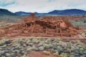 Vue sur Wukpatki Pueblo