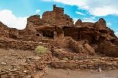 Une partie des ruines de Wupatki Pueblo