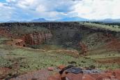 Paysage de Wupatki depuis Citadel Pueblo