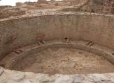 Une Kiva dans Aztec Ruins National Monument, Nouveau-Mexique