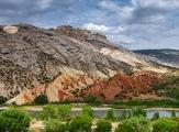 Paysage de Dinosaur National Monument dans sa partie Utah