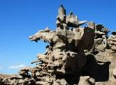 Roche découpée de Fantasy Canyon, Utah