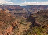 Vue sur le Grand Canyon depuis Bright Angel Trail, Arizona