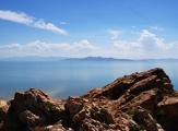 Vue sur le Grand Lac Salé d
