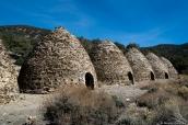 Charcoal Kilns (fours à charbon) dans l'ouest de la vallée de la mort