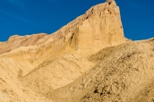 Rocher de Zabriskie Point vu de Golden Canyon Trail, Death Valley