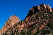 Paysage de Kolob Canyons, dans le nord de Zion National Park, Utah