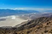 Vue sur la vallée de la mort à partir de Dante's View