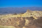 Zabriskie Point et ses badlands, Death Valley