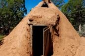 Hogan, maison traditionnelle navajo