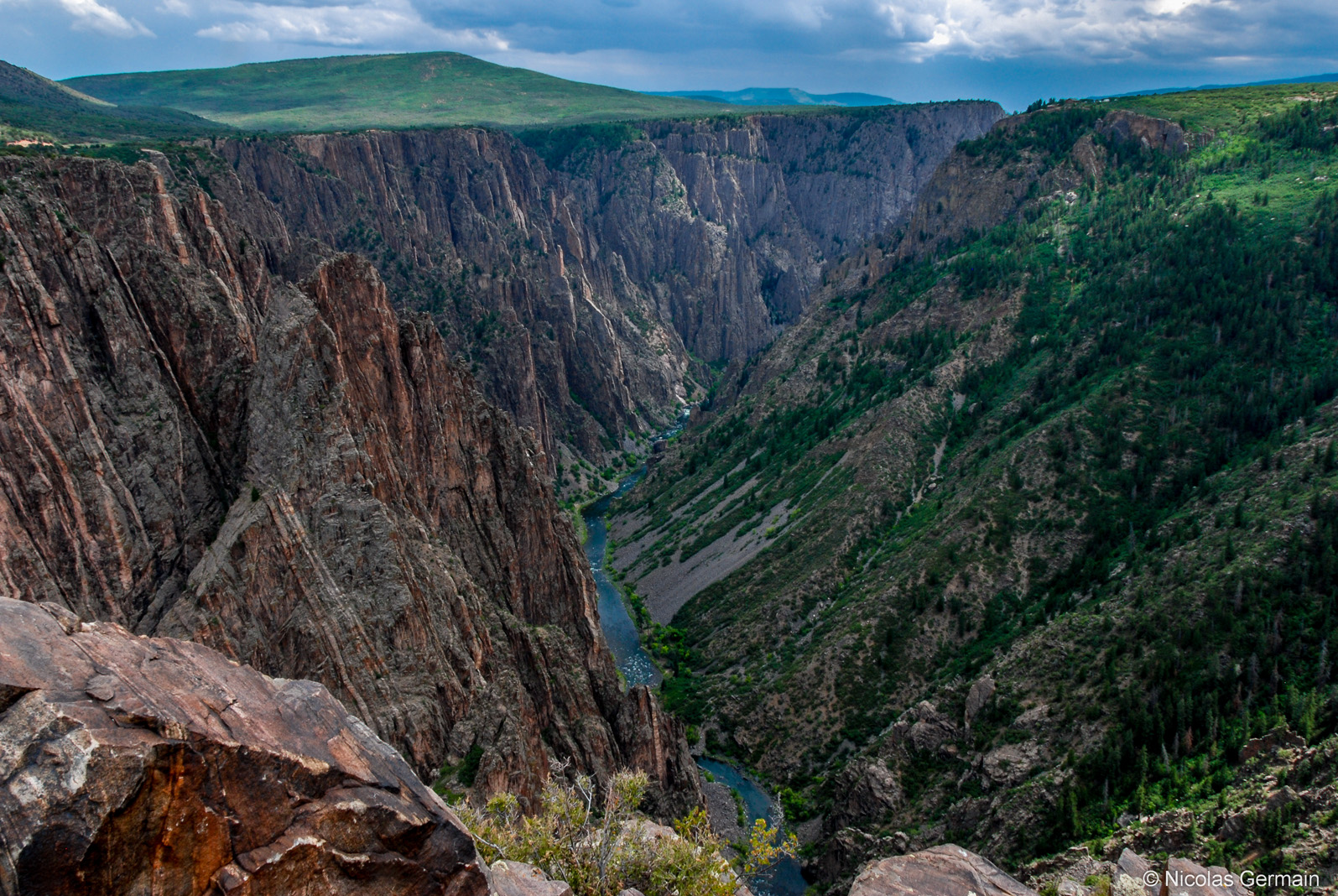 black-canyon-gunnison-pulpit-rock