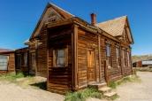 Maison en bois bien conservée de Bodie, Californie
