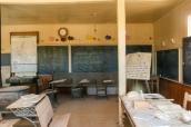 Salle de classe de l'école de Bodie, Californie