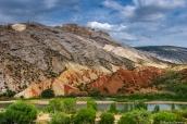Split Mountain dans Desert Voices Trail, Dinosaur National Monument, Utah