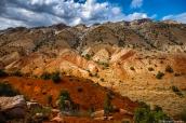 Paysage de Desert Voices Trail dans Dinosaur National Monument, Utah