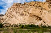 Falaise dans Dinosaur National Monument