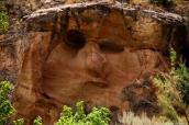 Picasso's face sur Echo Park Road, Dinosaur National Monument