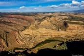 Canyon, mesas et méandres de la Green River à Harpers Corner Trail Overlook, Dinosaur National Monument