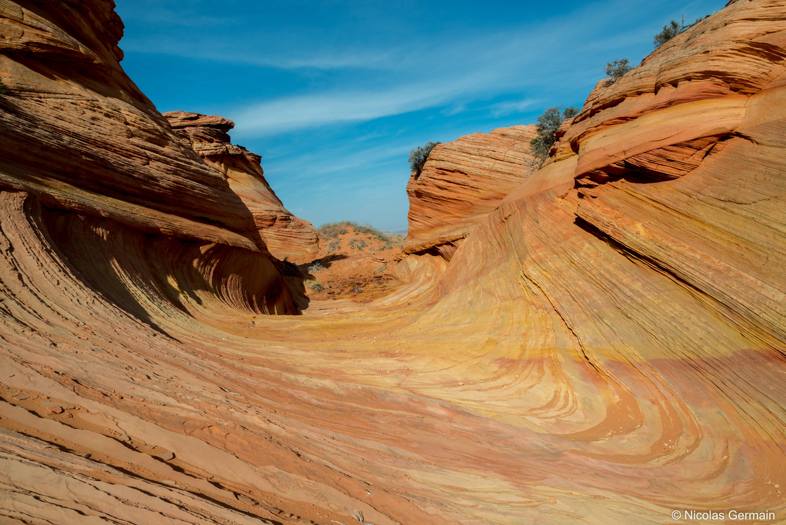 Third Wave dans Coyote Buttes South, Arizona