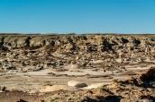 Paysage de Bisti Badlands, Nouveau-Mexique
