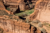 Point de vue sur le Canyon de Challey à Antelope House Overlook