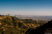 Downtown de Los Angeles vu de Griffith Park