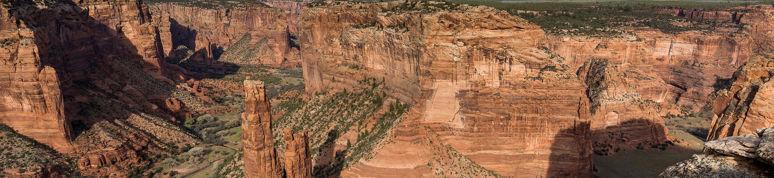 Spider Rock dans le Canyon de Chelly