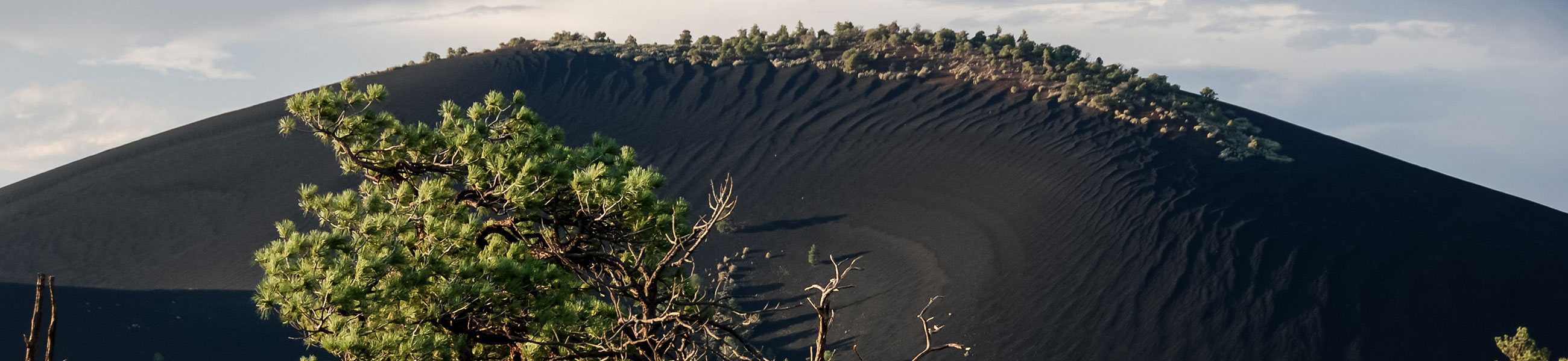 Paysage de Sunset Crater