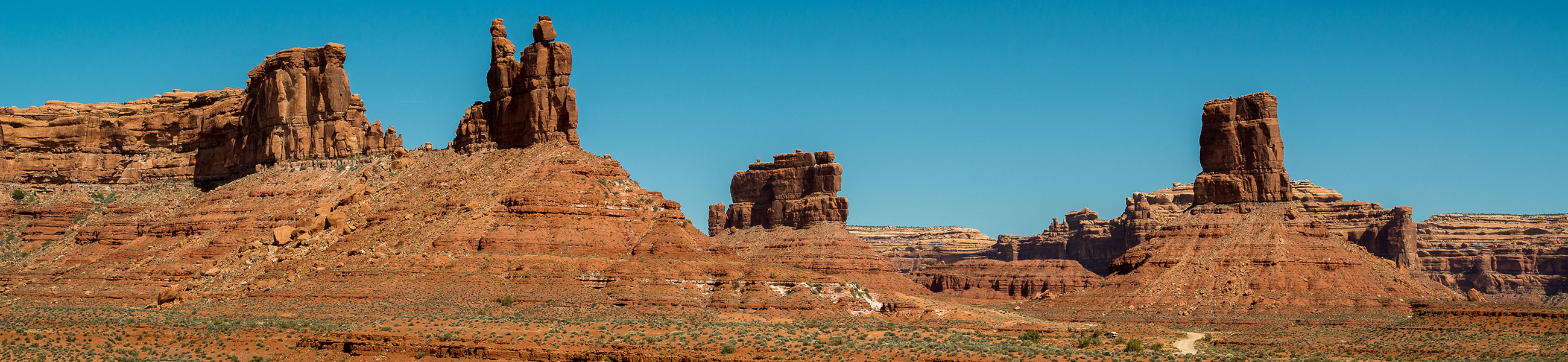 Paysage de Valley of the Gods, Utah