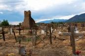 Cimetière de Taos Pueblo et restes de l'ancienne chapelle, Nouveau-Mexique