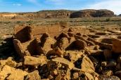 Ruines de Pueblo Bonito, Chaco Culture, Nouveau-Mexique