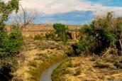 Paysage de Chaco Culture, Nouveau-Mexique