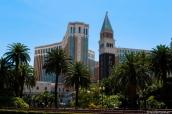 Hôtel Venetian de Las Vegas en pleine journée
