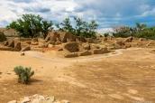 Ruines Pueblos d'Aztec Ruins National Monument, Nouveau-Mexique