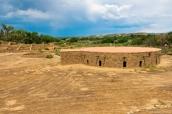 Grande kiva reconstruite d'Aztec Ruins National Monument, Nouveau-Mexique