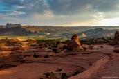 Amphithéâtre où se trouve Delicate Arch, Arches National Park