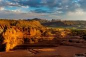 Alentours de Delicate Arch au coucher du soleil, Arches National Park