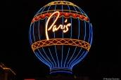 Enseigne lumineuse de l'hôtel Paris à Las Vegas