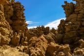 Roches érodées de Fantasy Canyon, Utah
