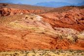 Valley of Fire et ses roches en feu se trouvent à une heure de Las Vegas