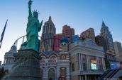 Hôtel New York New York de Las Vegas et sa statue de la liberté