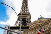 Tour Eiffel de l'hôtel Paris de Las Vegas, Nevada