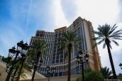 Hôtel Palazzo de Las Vegas en pleine journée