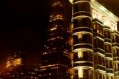 San Francisco de nuit dans le quartier de Telegraph Hill