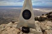 Sommet de Guadalupe Peak, Guadalupe Mountains National Park