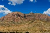 Paysage montagneux et désertique de Big Bend National Park, Texas