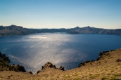 Vue sur Crater Lake de Cloudcap Overlook, Oregon