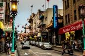 Quartier de Chinatown à San Francisco