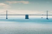 Le Bay Bridge reliant San Francisco à Oakland