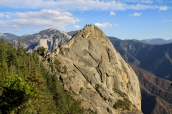 Moro Rock dans Sequoia National Park, Californie